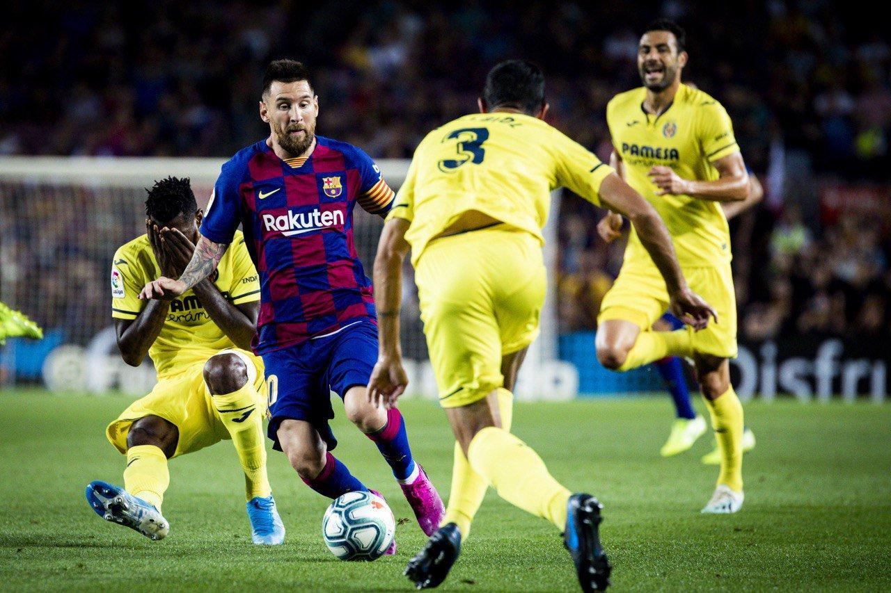 Barcelona đã thắng Villarreal ở cả 2 lượt trận mùa giải trước