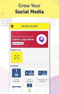 Brand Maker - Logo & Graphic Design Templates Screenshot