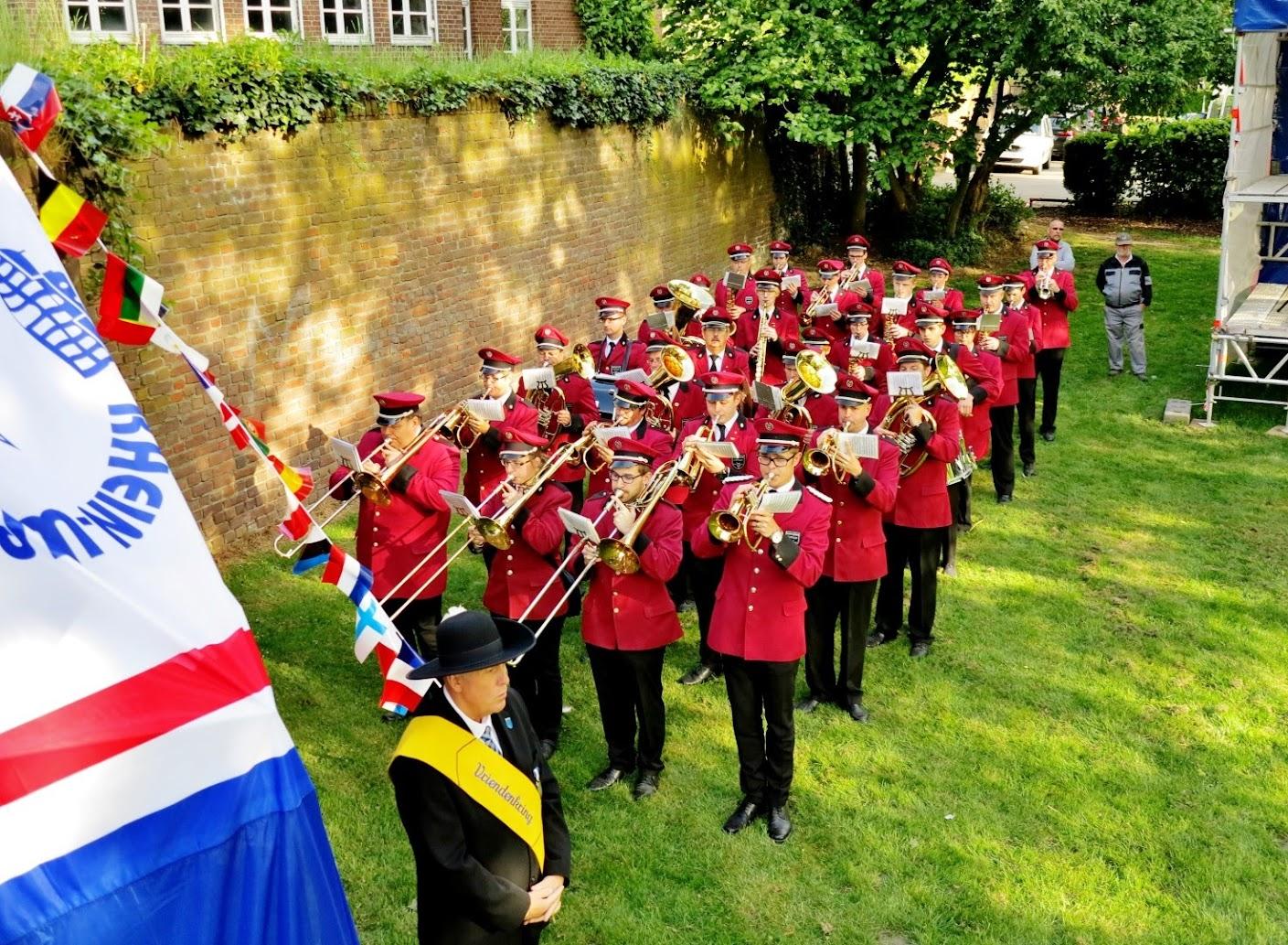 Zonder muziek is er geen mooie herdenking op de Klosterwiese!