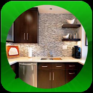 Minimalistická kuchyňská místn - náhled