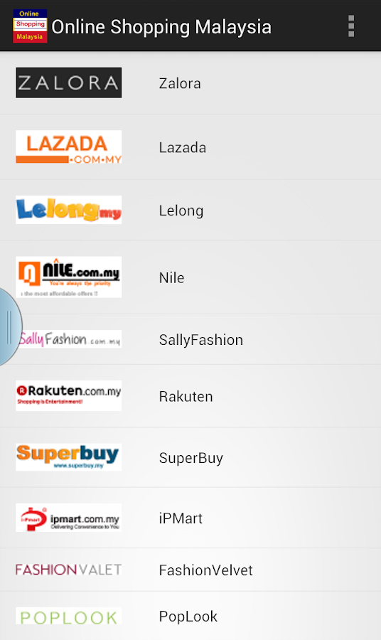 Online shopping malaysia android apps on google play for Best websites to online shop