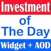 Investment of the Day Widget