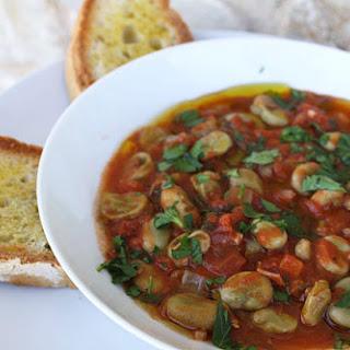 Scafata di Fave ~ Umbrian Fava Bean Stew