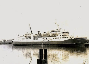 "Photo: ""Olau West"" in the port of Vlissingen, October 1977 (Photo: H.G. Hesselink)"