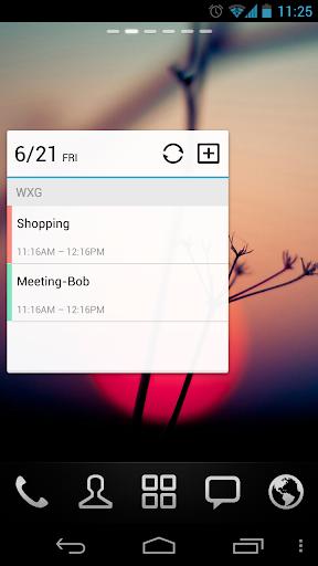 GO Calendar Widget screenshot 3