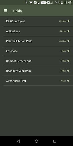 TraceForce: Captures d'écran MilSim Tracker & Map 4