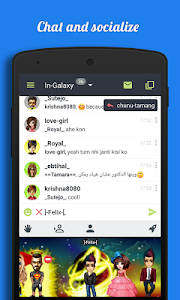 Galaxy - Chat & Meet People screenshot 0