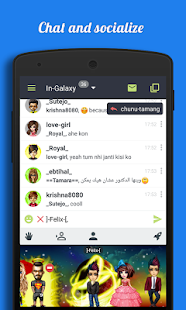 Galaxy - Chat & Meet People- screenshot thumbnail