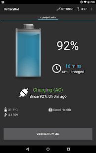 BatteryBot Battery Indicator- screenshot thumbnail