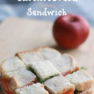 Checkerboard Turkey Sandwich.
