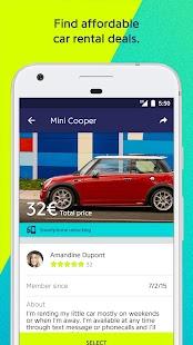 Drivy, peer-to-peer car rental - náhled