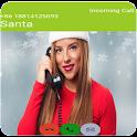 Fake Call Santa  icon