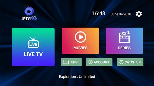 Premium IPTV PRO 1.6.9 screenshots 1