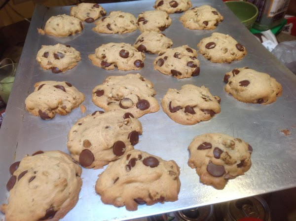 Remove from oven and allow to sit on cookie sheets about 10 minutes before...