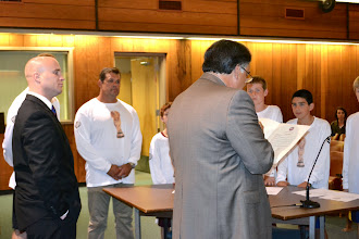 Photo: Reading of the proclamation for the Matawan/Aberdeen U12 Boys Soccer