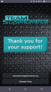 Team Superluminal Support- screenshot thumbnail