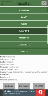 Mineral Identifier - náhled