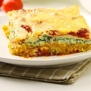 Pumpkin & Ricotta Lasagne