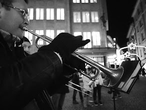 Photo: Trumpets from St. Petersburg...  A Christmas Street Tour with +Thomas Leuthard in Luzern...