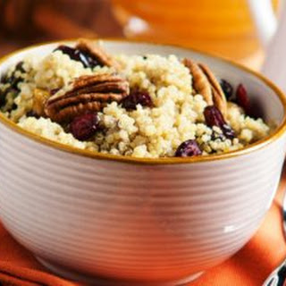 Delightful Cinnamon and Cherry Rice Breakfast Bowl
