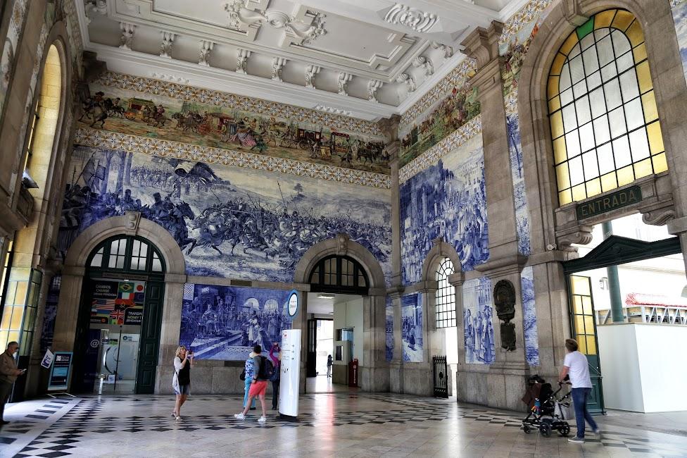 Porto, Dworzec Sao Bento