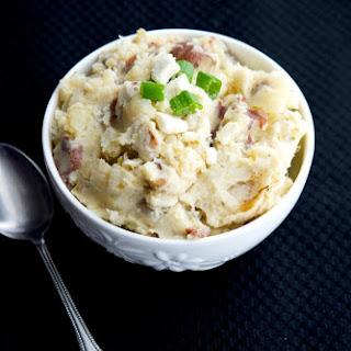Crock Pot Greek Mashed Potatoes.