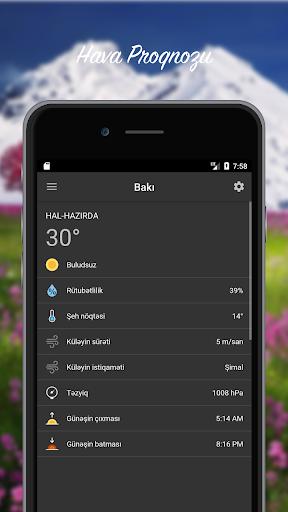 Hava Proqnozu - Azu0259rbaycan 3.0.2 Screenshots 4