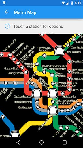 DC Metro Transit Info - Free screenshot 4