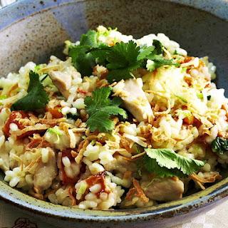 Chicken and Coconut Risotto