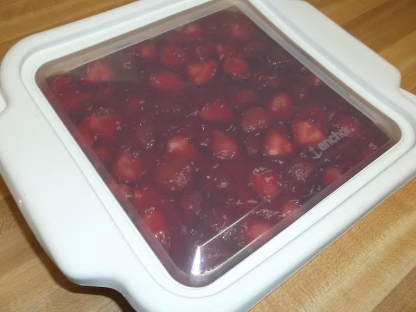 "Cover and refrigerate leftovers. Recipe may be doubled using a 9""x13"" pan."