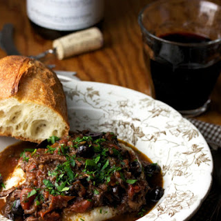 OXTAIL RAGOUT WITH OLIVES