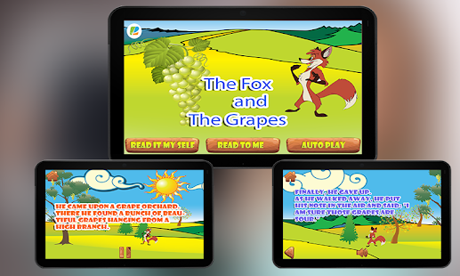 Fox and Grapes KidsStory pro- screenshot thumbnail