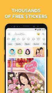 MomentCam Cartoons & Stickers 5.2.01 Unlocked MOD APK Android 2
