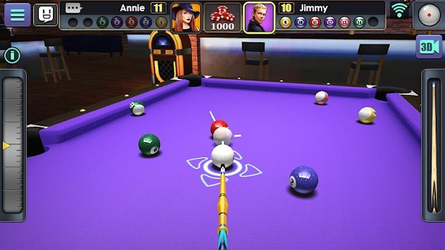 3D Pool Ball apk screenshot