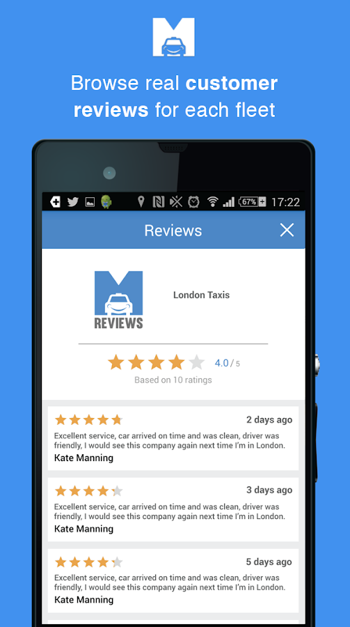 Minicabster - Book a Minicab - screenshot