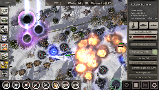 Defense Zone 3 HD Screenshot