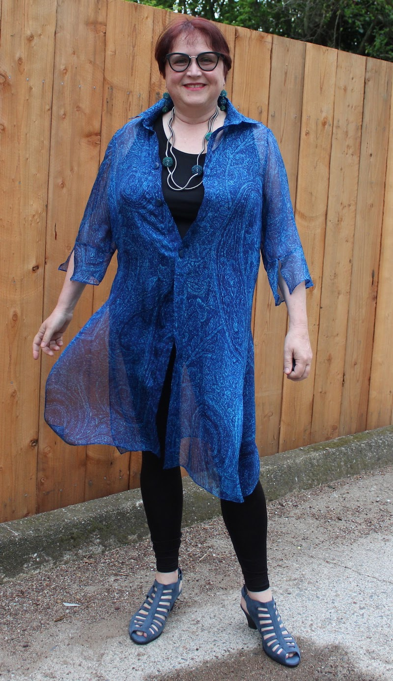 Sardinia Blue 10 London Times Womens Elbow Sleeve Seamed Ponte Fit and Flare Dress