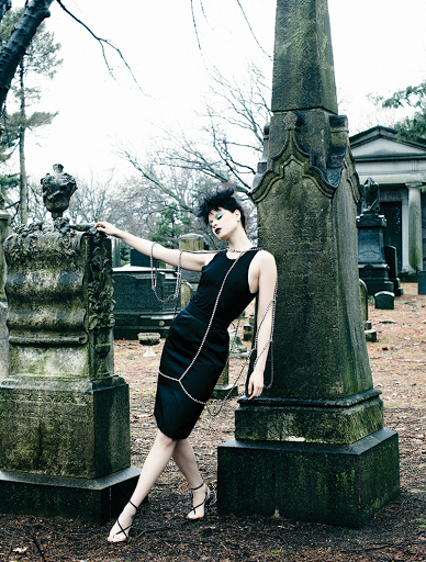 Fashion editorial featuring looks from No 21.