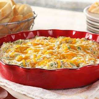 Hot Broccoli-Cheese Dip.