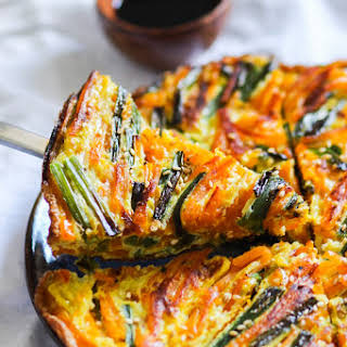 Chinese-style Pumpkin Omelette.
