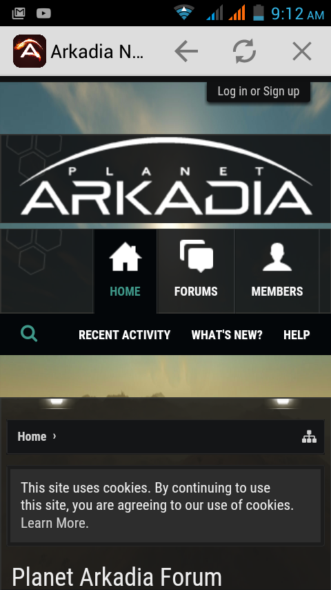 Arkadia News Network- screenshot