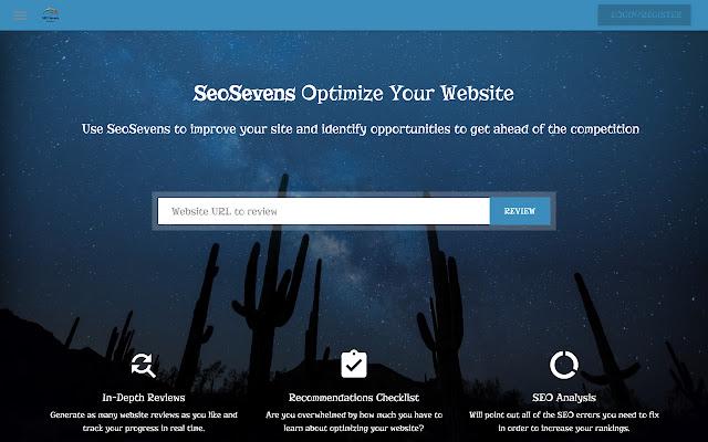 SeoSevens - SEO &  Website Analysis