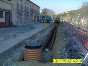 Photo: Canalizacion en Canyelles