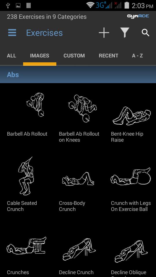 GymACE Pro: Workout Tracker & Body Log Screenshot 1