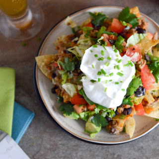 20-Minute Turkey Taco Nachos
