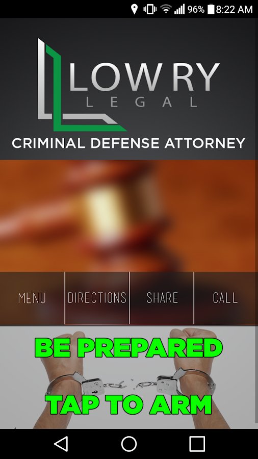 Lowry Legal- screenshot