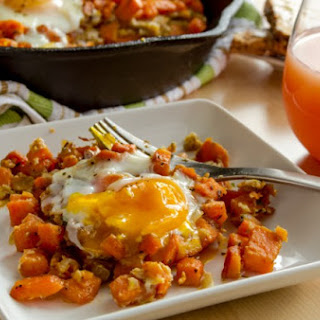 Paleo Pancetta & Sweet Potato Breakfast Hash