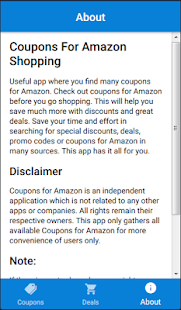 Coupons for Amazon Shop - náhled