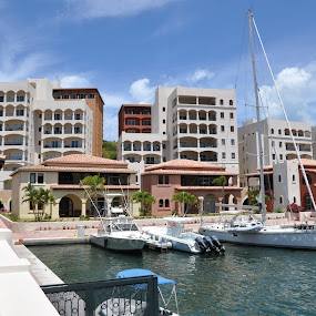 The Marina by Dave Reece - Landscapes Travel ( st maarten, cupecoy, marina, caribbean )