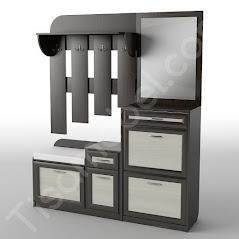 Прихожая-16 мебель разработана и произведена Фабрикой Тиса мебель